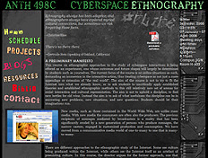 CYBERSPACE ETHNOGRAPHY