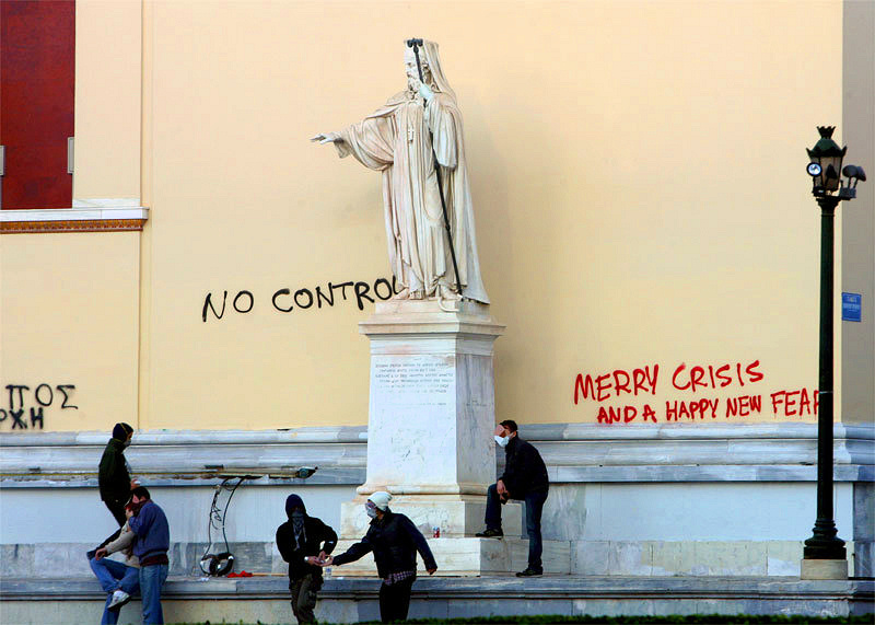 """Merry Crisis and a Happy New Fear"""