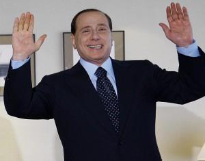 Silvio Berlusconi, 9 July 2008. Ricardo Stuckert/PR, Agência Brasil, http://www.agenciabrasil.gov.br/imagens. From Wikimedia Commons at http://commons.wikimedia.org/wiki/File:Silvio_Berlusconi_09072008.jpg