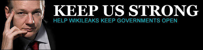 KEEP WIKILEAKS STRONG