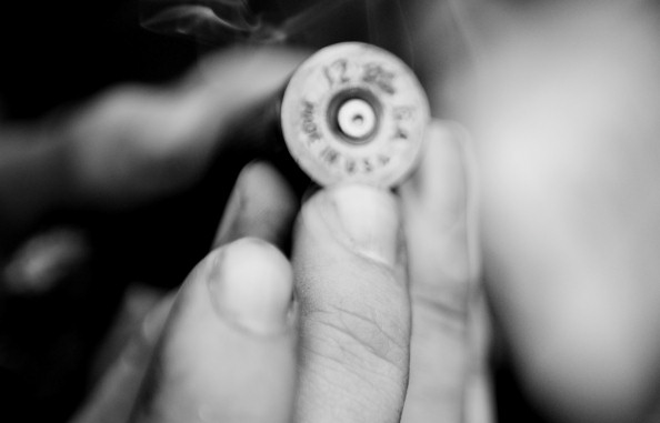 Made in the USA: Birdshot used on protesters in Mohamed Mahmoud Street, made in the USA