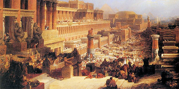 The Israelites Leaving Egypt,