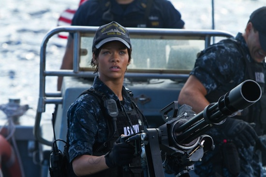 "There's Rihanna, ""accurately portraying"" the U.S. NavyThere's Rihanna, ""accurately portraying"" the U.S. Navy"
