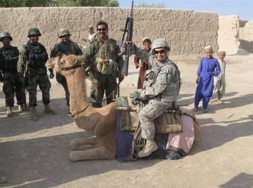 Social Scientist on Camel