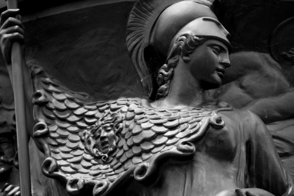 minerva-goddess-of-war-wisdom-bw
