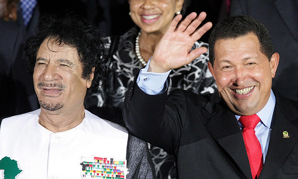 CHAVEZ AND GADDAFI