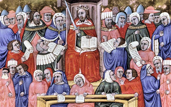 court-scribes