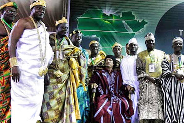 Muammar Gaddafi, African King of Kings