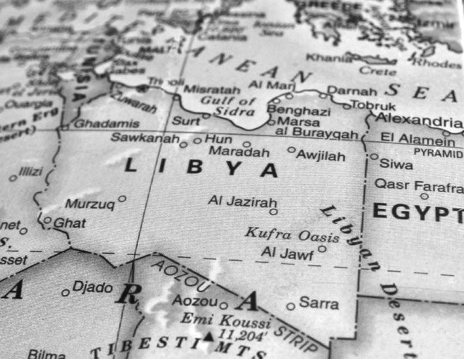 libya-map-bw
