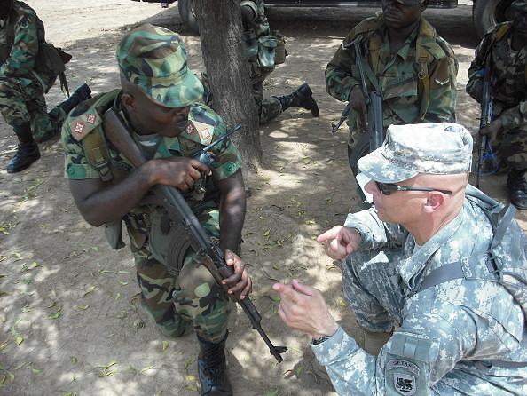 ACOTA mission in Sierra Leone.