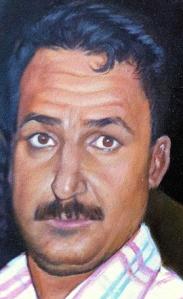 Sadiq al-Timimi, from a painting.