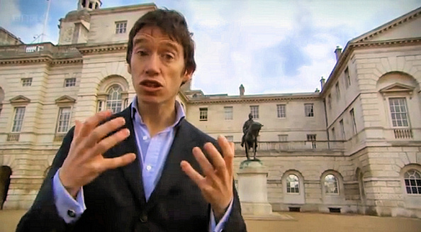 Rory Stewart in his BBC documentary on Afghan history.